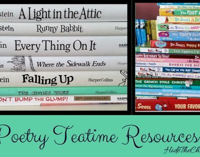 Poetry Teatime Resources