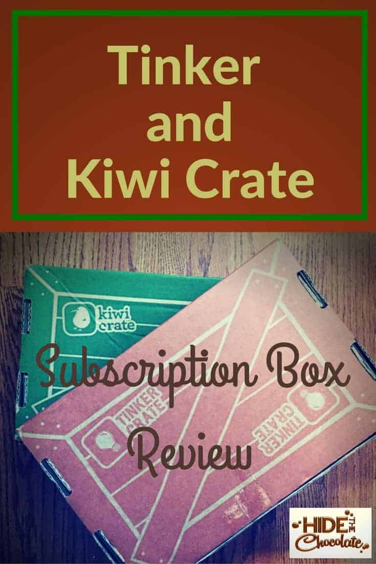 Tinker Crate and Kiwi Crate Review