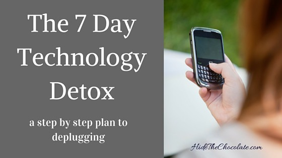 The Seven Day Technology Detox