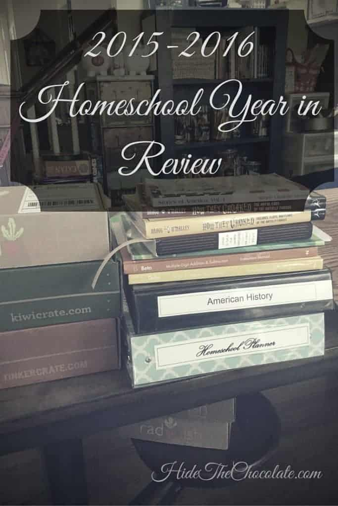 Homeschool Year in Review