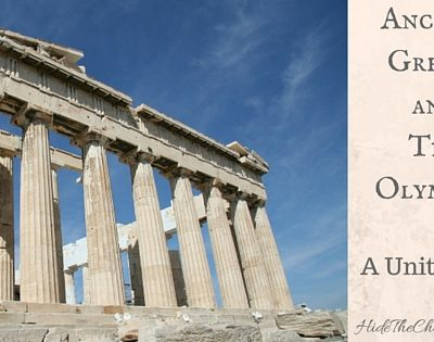 Ancient Greece and Olympic Unit Study with Free Printable