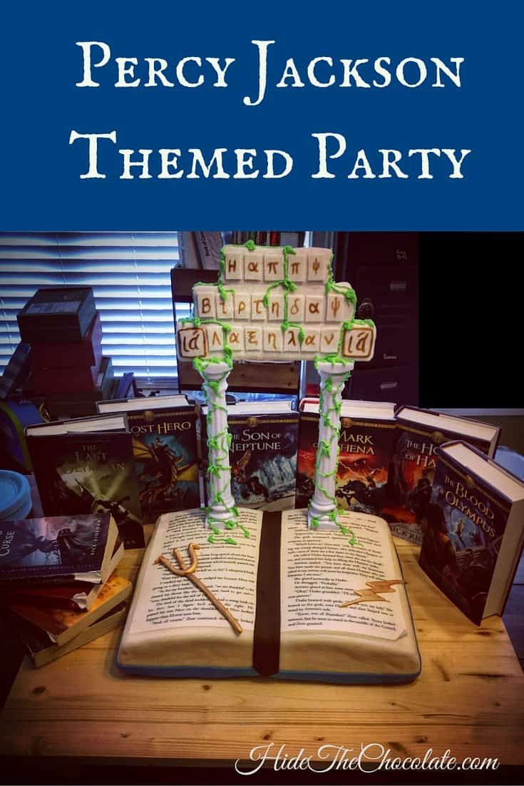 Percy Jackson Themed Party