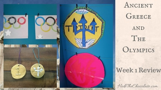 Ancient Greece and The Olympics Unit Study Week 1