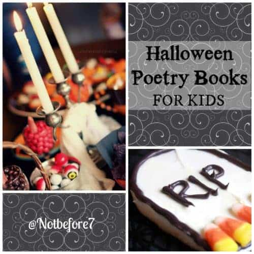Halloween Poetry Books for Kids
