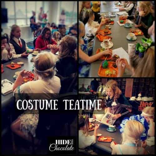 Halloween Poetry Teatime Costumes