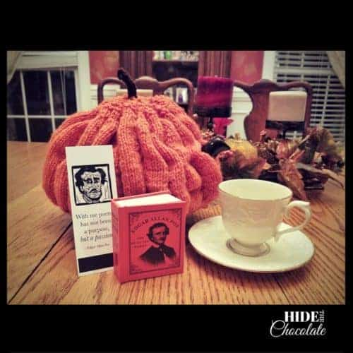 Halloween Poetry Teatime Poe