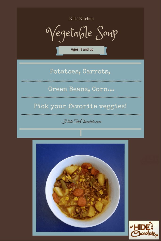 Kids' Kitchen: Vegetable Soup