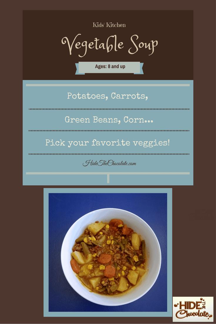 Kids' Kitchen: Vegetable Soup