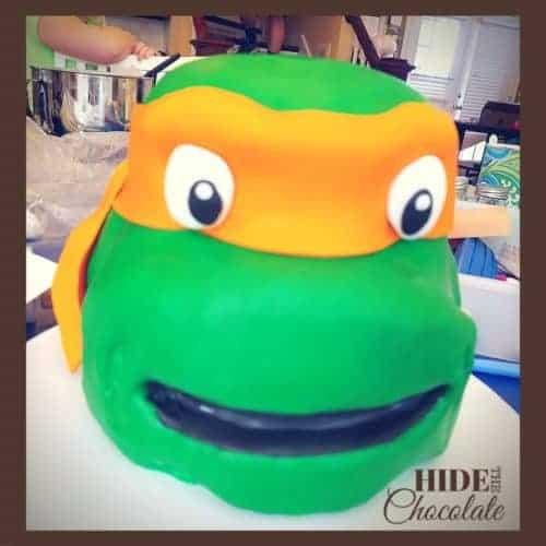 Teenage Mutant Ninja Turtle Cake Tutorial