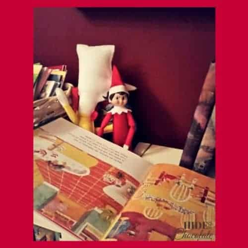 Elf Reading a Book
