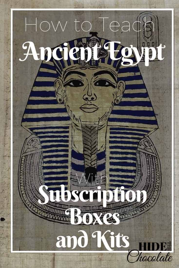Ancient Egypt Subscription Boxes and Kits