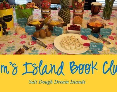 Nim's Island Book Club ~ A Tropical Salt Dough Island Party School