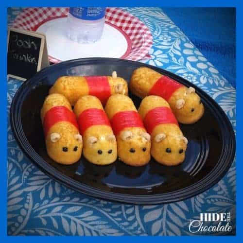 Pooh Picnic snacks