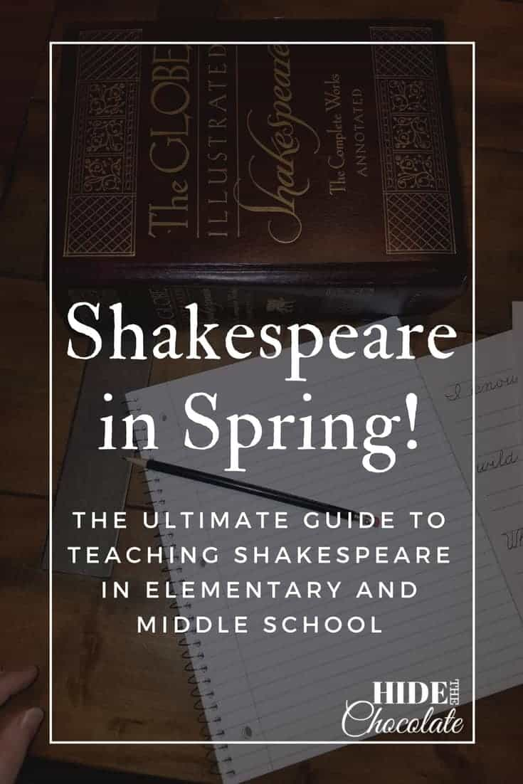 Shakespeare in Spring! The Ultimate Guide to Teaching Shakespeare