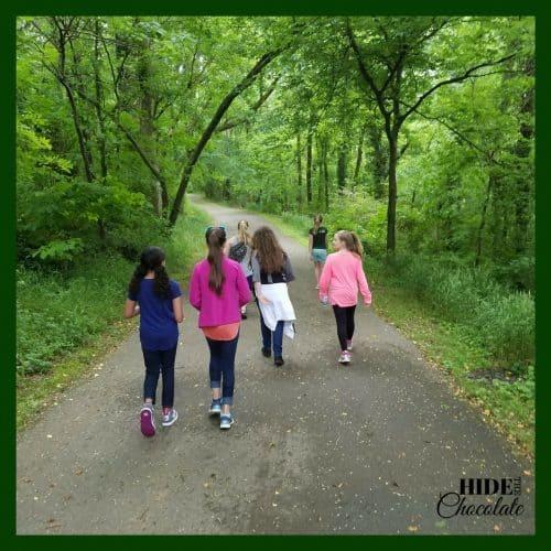 The Green Ember Book Club Hike