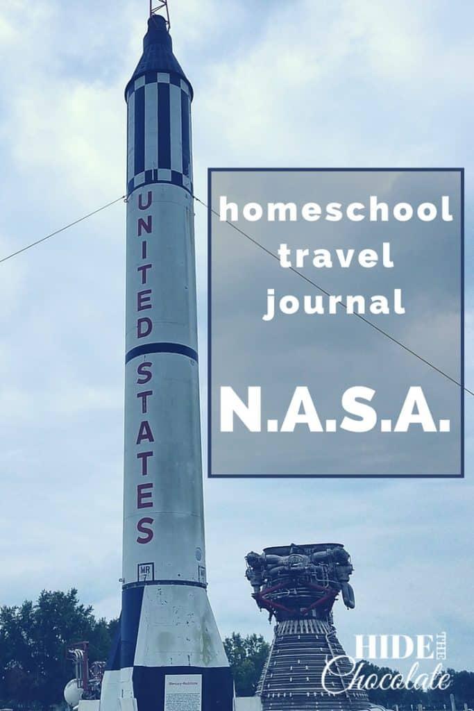 Homeschool Travel Journal- NASA