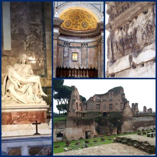 Homeschool Travel Journal: Italy Rome Sites