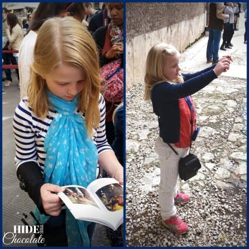 Homeschool Travel Journal: Italy
