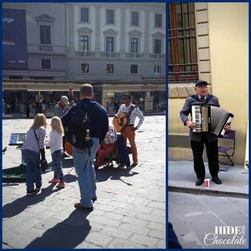 Homeschool Travel Journal: Italy Street Musicians