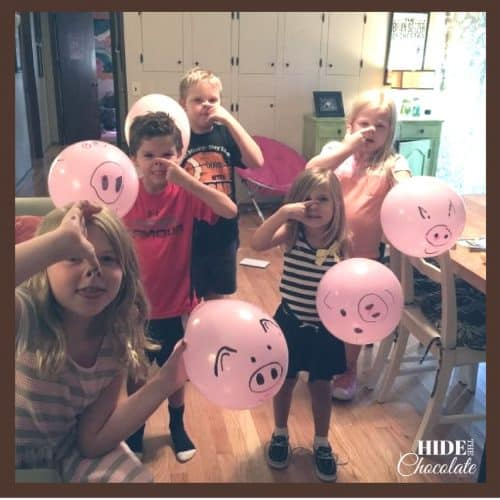 Charlotte's Web Book Club - Balloons