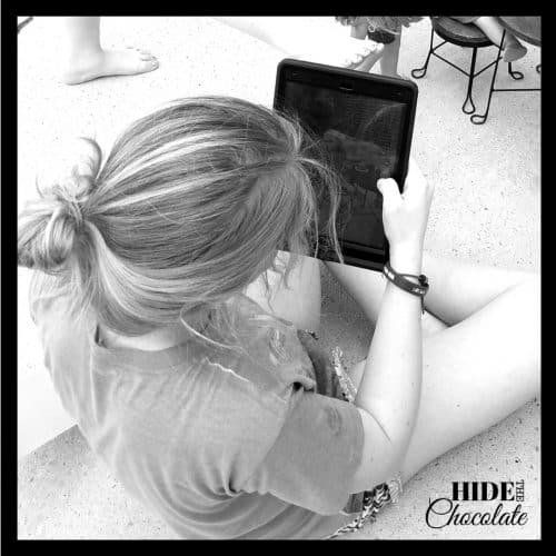 Filmmaking for kids - Camera shot