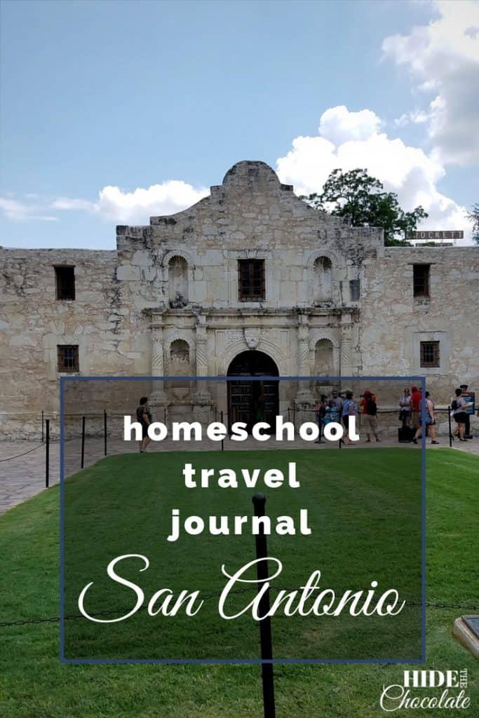 Homeschool Travel Journal- San Antonio and the Alamo