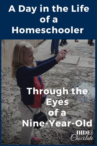 A Day in the Life of a Nine-Year-Old Homeschooler