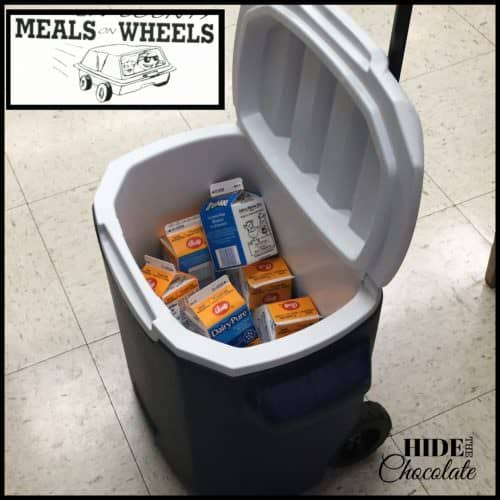 Day in the life of a nine-year-old homeschooler- Meals on Wheels