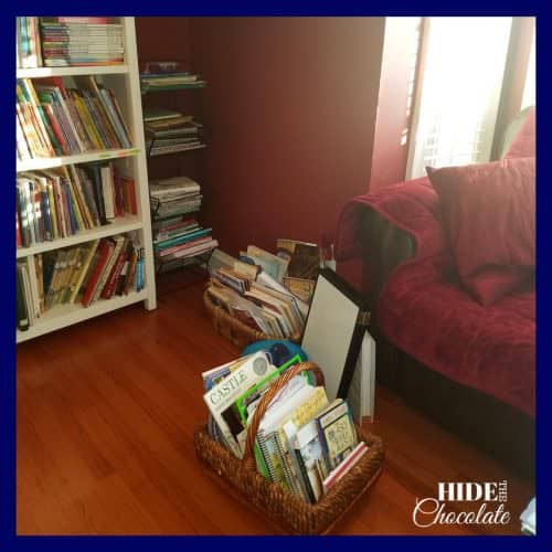 Homeschool Room- Morning Basket